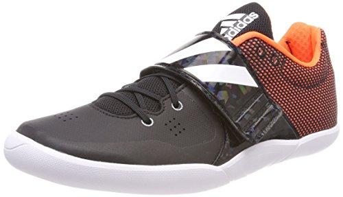 adidas Adizero Discus/Hammer, Scarpe da Atletica Leggera Unisex-Adulto, Nero (Core Black/Ftwr White/Orange), 42 EU