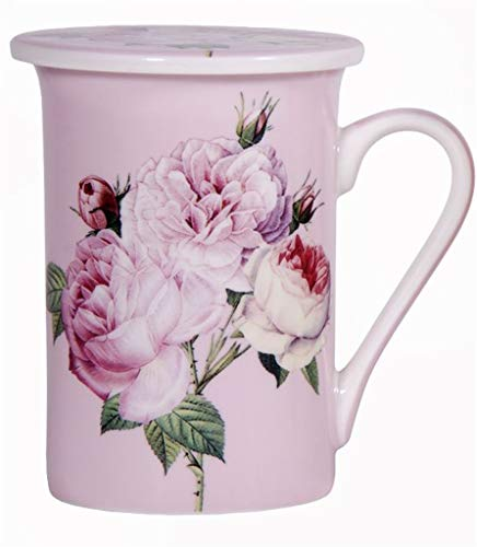 Home Essentials and Beyond Redoubt Rose Teetasse, 284 ml, Rosa
