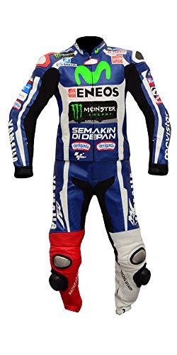 Corso Fashion Yamaha Herren-Motorradanzug aus Leder, CE-Schutz, Bikeranzug, maßgefertigt Gr. XXXXX-Large, Mehrfarbig