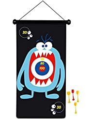 Scratch - 276182004 - Jeu de fléchettes magnétiques - Monstre - Taille Grand