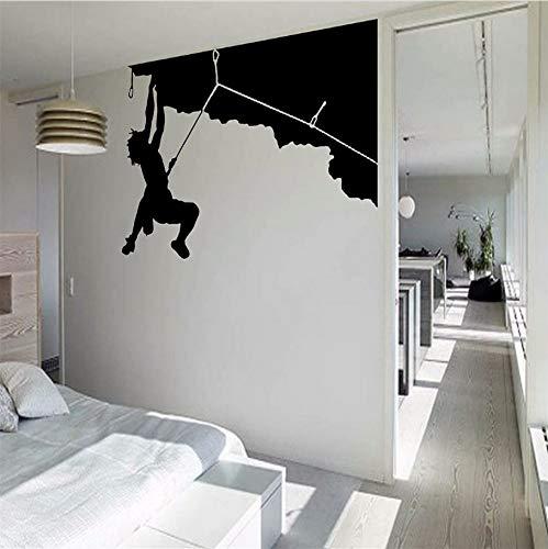 Sport Cool Kreative Silhouette Wandkunst Aufkleber Wandbild Riesen DecalTransfer Home Room Dekorative Tapeten 55 * 78cnm ()