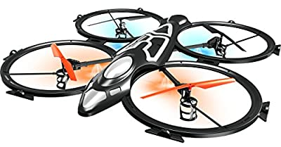 Torro 1122906804 Extra Large XXXL Quadrocopter 2.4 GHz with HD Camera, 103 cm