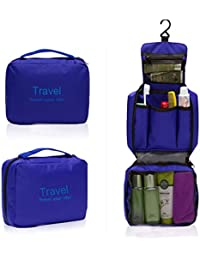 House Of Kart Travel Your Life Bag Travel Pouch Folding Wash Bag COSMETIC (Blue)
