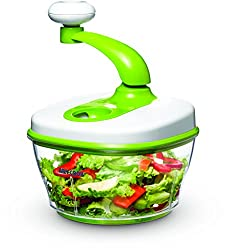 Art and Cook Manual Food Processor, Green