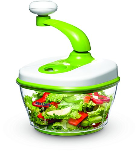 Art and Cook Manual Food Processor, Green