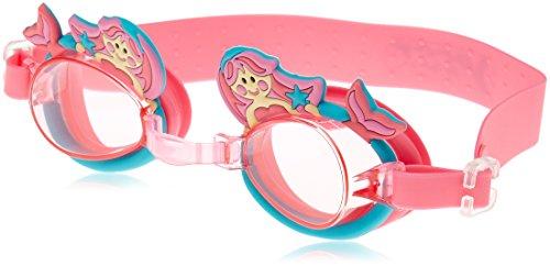 Best Sport Mädchen Mermaid Schwimmbrille, Rose, S
