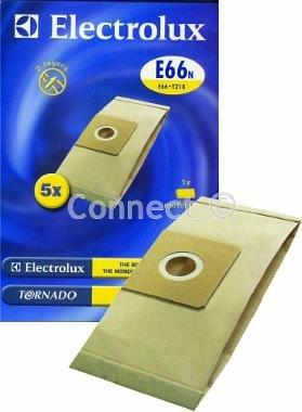 Electrolux E66N sacs en papier (Pack de 4) type: E66N équivalent: E66(type: E66N–Electrolux rechange)