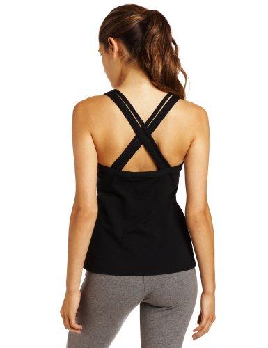 aus Steinzeug Designs Damen Yoga BH Top schwarz