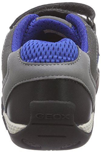 Geox Jr Aragon B Jungen Low-Top Grau (GREY/ROYALC0069)