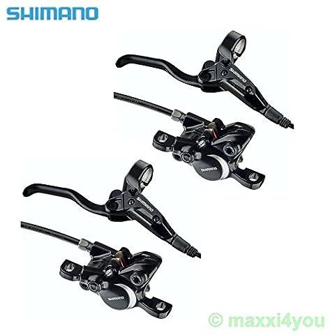 01110601 Shimano BL-M315 hydraulische Bremse Fahrradbremse im Set Disc Brake (BL-M315-R + L (Set))