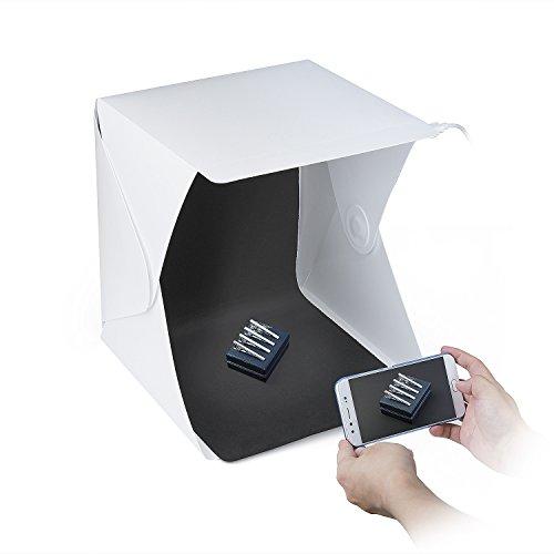 ZWOOS Caja Fotografía LED Luz Fotográfico Tienda