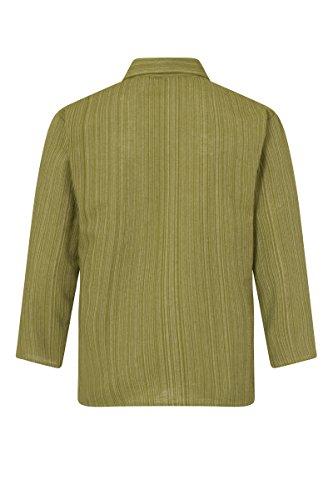 ThaiUK Herren Freizeit-Hemd mehrfarbig mehrfarbig Olivgrün