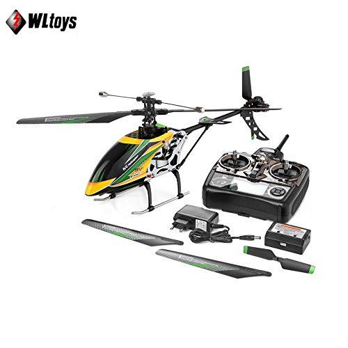 WLtoys V912 4CH Brushless RC Hubschrauber Single Blade High Efficiency Motor RC Hubschrauber (Rc Hubschrauber Single)