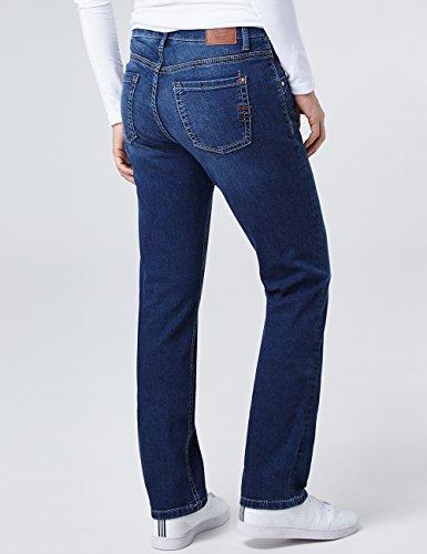 Pioneer Damen Straight Jeans Sally Blau (Blue Stone Used 06)