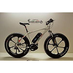 Cicli Ferrareis Bici Fat EBIKE in Alluminio 8V Shimano BAFANG 750WATT Personalizzabile