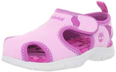 Timberland Little Harbor Closed Toe, Unisex-Child Sandals, Pink, 8.5 UK