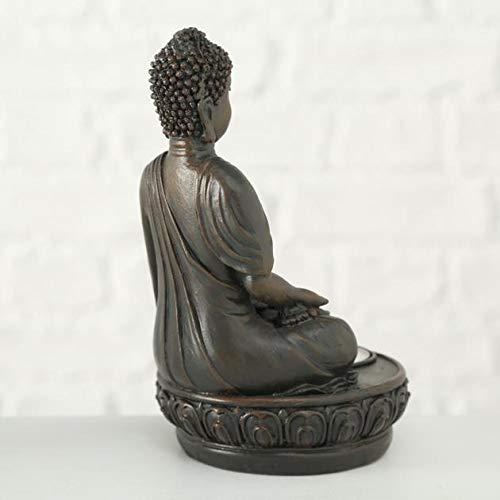 Buddha Teelichthalter im 2er Set je 19 cm - 5
