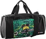 LEGO Bags Sporttasche mit Nassfach, Reisetasche für Kinder, Schulsporttasche mit Lego Ninjago Motiv Energy, Tasche ca. 39 cm, 17 Liter