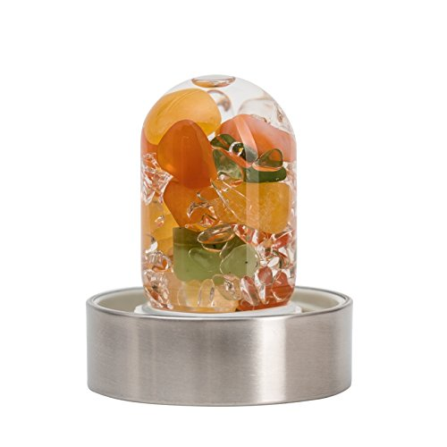 VitaJuwel NEU! Via Happiness gempod Edelstein nur (Karneol orange CALCIT Jade (Nephrit) klar Quartz) -