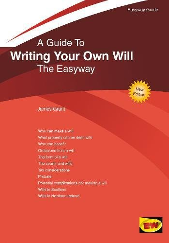 Writing Your Own Will (Easyway Guides)