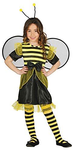 Mädchen Für Kostüme Biene (Kostüm Biene Kinder - Biene Kostüm Kinder mit Flügel und Haarreifen - Bienen Kostüm für Kinder Mädchen)