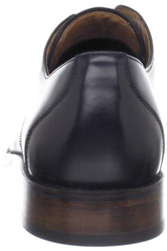 Johnston & Murphy Hartley Plain Hommes Cuir Oxford Black