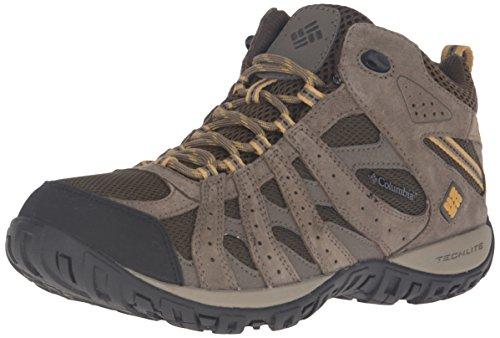 Columbia Redmond Mid Waterproof Scarpe da Trekking, Marrone (Cordovan/dark Banana 231), 43.5