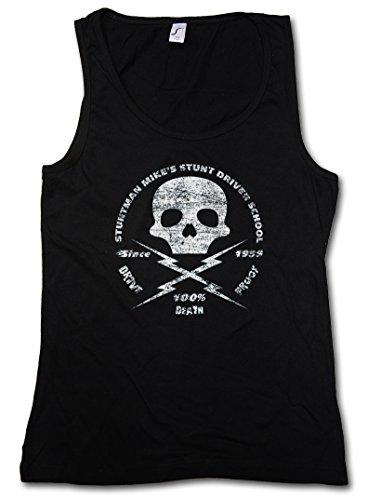 Stuntman Mike Vintage Damen Frauen Tank Top Shirt - Quentin Death Film Jungle Tarantino Proof Julia Größen S – XL