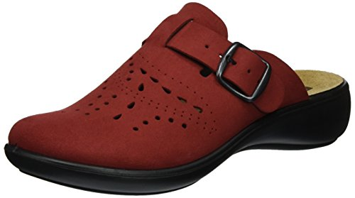 ROMIKA Ibiza Home 315, chaussons d'intérieur femme Rot (Rot)