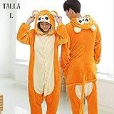KRAZY TOYS Pijama Animal Entero Unisex para Adultos como Ropa de Dormir-Traje de Disfraz para...