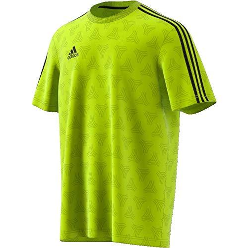 adidas Tan Jqd JSY, Maglietta Uomo, Giallo (Semi Solar Yellow), S