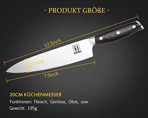 Coltello da cucina allezola professionale cm coltello da
