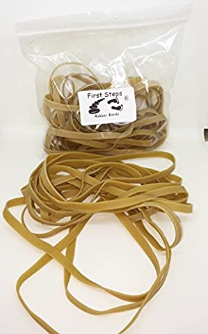 15 x Large 6 inch x 1/4 inch Wide Rubber Elastic Bands No.69 152.4mm x 6.3mm