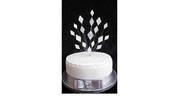 Kuchendekoration Fur 60 Hochzeitstag Diamantene Hochzeit Fur
