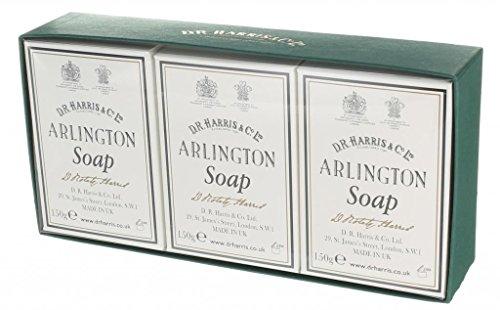 D.R.Harris & Co ArlingtonTriple-Milled Bath Soap Trio 3 x 150g
