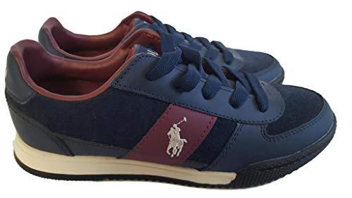 POLO-RALPH LAUREN , Jungen Sneaker Blau blau 35 EU, Blau - blau - Größe: 35 EU (Polo Ralph Lauren Sneaker Kinder)