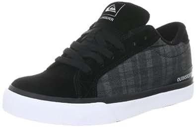 Quiksilver - Schuhe - LITTLE ADVAN - KPBSL202-BBGS, Jungen Sportschuhe - Skateboarding, Schwarz (BBGS blk blk gry), EU 29 (UK 11) (US 12)