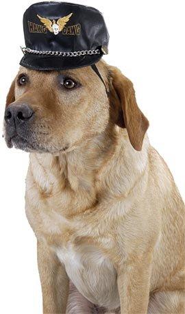 Hawg Mil Spec Antidote Hund Biker Hat für große Hunde von Pet friendzy