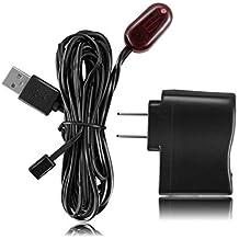 IR nascosta infrarossi telecomando Extender ricevitore emettitore ripetitore sistema 1,8m–IR ricevitore e emettitore IR Blaster cavo di estensione USB Powered sistema kit (con alimentatore)