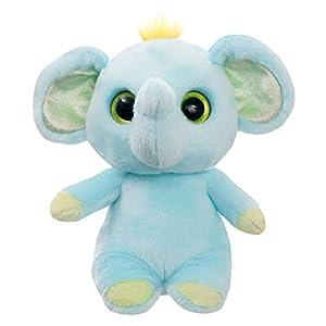 Aurora World 61291 Eden - Peluche de Elefante, Color Azul