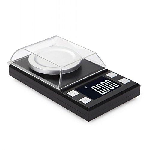 0,001G Digital Pocket Scale, Hohe Präzision Balance Digitalwaage Münze Waagen Für Schmuck (2 * AAA Batterien, Nicht Im Lieferumfang Enthalten),10G*0.001G