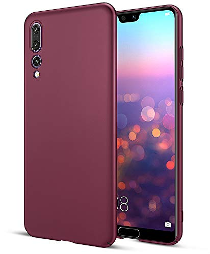 EIISSION Huawei P20 Pro Hülle Hardcase, Ultra Dünn Huawei P20 Pro Schutzhülle aus Hart-PC Case Cover Handyhülle für Huawei P20 Pro - Lila