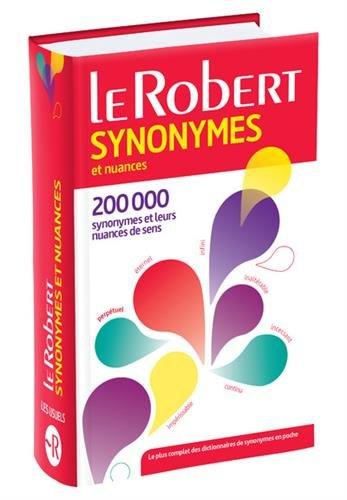 Dictionnaire des synonymes et nuances - version Poche plus