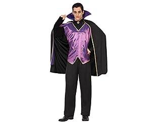 Atosa 26484 Disfraz vampiro morado adulto XL, talla hombre