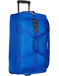 American Tourister Pep Polyester 35.5 cms Blue Travel Duffle (AMT PEP Wheel Duffle 65CM-Blue)