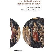 La civilisation de la Renaissance en Italie