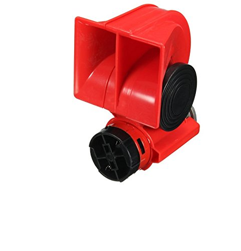 12v 139db Air Horn Blast Compact Twin Ton laut Hörnern, LKW, Boot, SUV, 2 Stück -