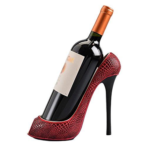 Weinregal - Kreativer Hochregalständer, hochwertiger Weinregal aus Kunststoff, stilvoll und einfach (Größe 24cmX10cmX20cm) Weinlagerung