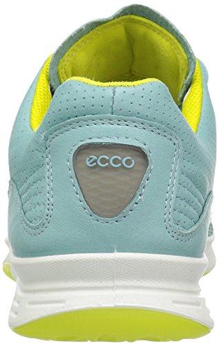 Ecco Exceed, Baskets Basses Femme Bleu (50308Aquatic/Aquatic/Sulphur)