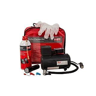 HP-Autozubehör 10257 Reifen-Pannen-Set mit Spray